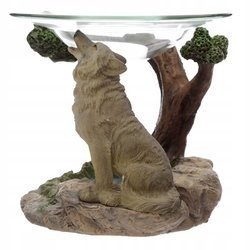 Protector of the North Spirit of the Forest Wolf Oil Burner