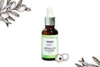 Skwalan - naturalne serum nawilżające Mohani