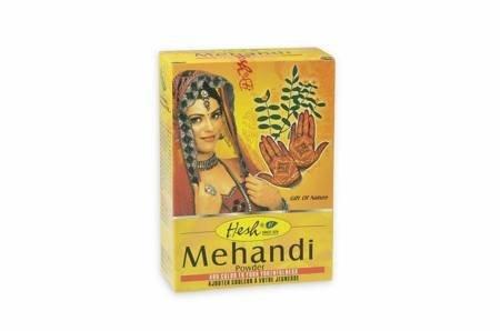 Mehendi henna do farbowania włosów i zdobienia ciała Hesh