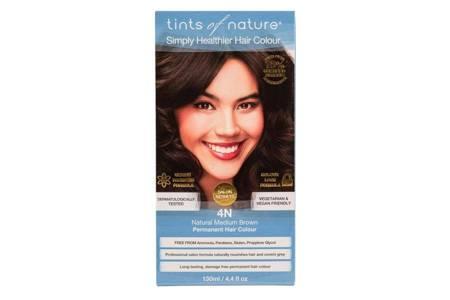 Naturalna farba do włosów Tints of Nature - 4N Naturalny średni brąz