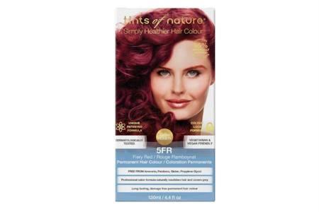 Naturalna farba do włosów Tints of Nature - 5FR Ognista czerwień