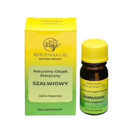 Naturalny olejek eteryczny: SZAŁWIOWY