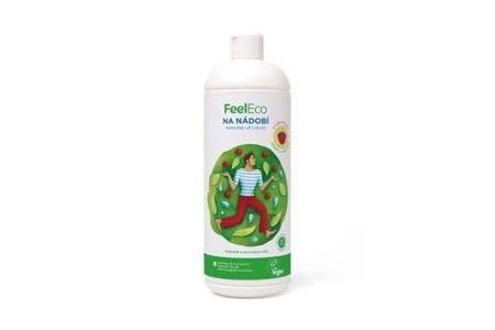 Płyn do mycia naczyń, owoców i warzyw 1 Litr o zapachu malinowym