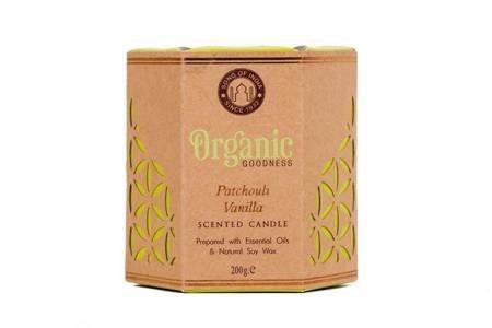 Sojowa świeca zapachowa - Patchouli Vanilla 200g