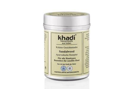 Ziołowa maseczka sandałowa Khadi